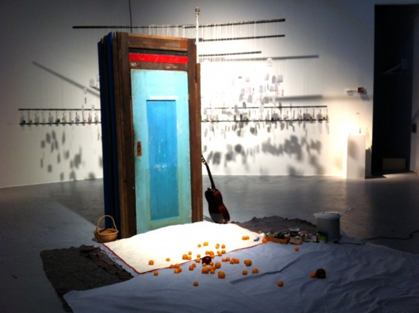 Yawning Booth, Art Music Tea Party Soma Arts, San Francisco, CA © Adriana Atema