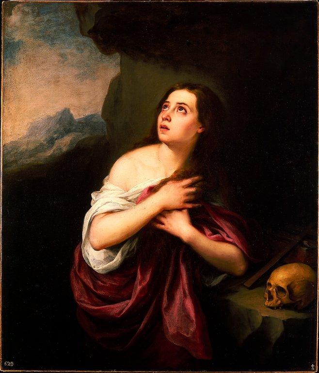 Penitent Magdalene by Esteban Murillo