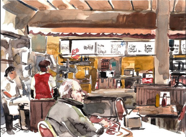 Manny's Cafeteria © Dmitry Samarov