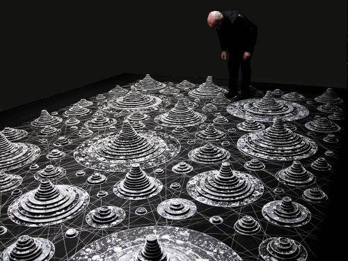 Asher Bilu M-Theory Installation © Asher Bilu