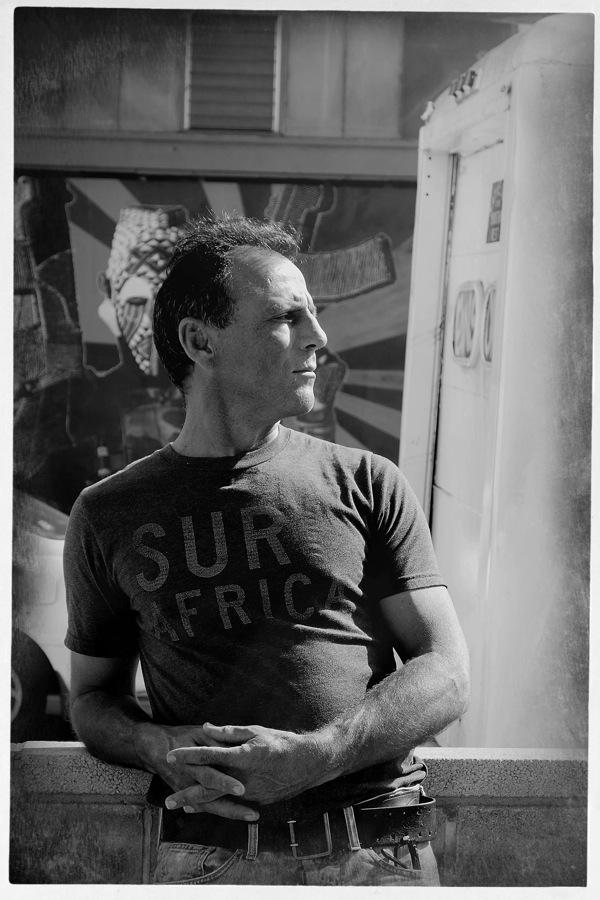 Ralph Ziman photographed by his daughter Jessica Ziman.
