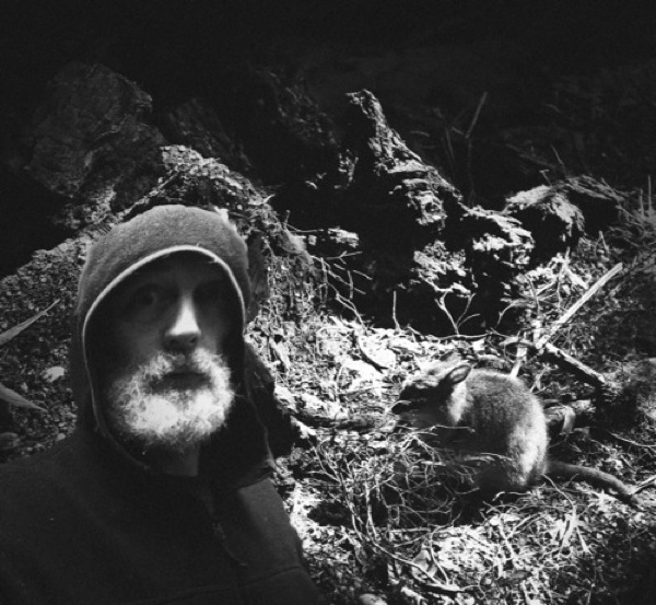 Jerry Hyde encountering the Tasmanian Pademelon