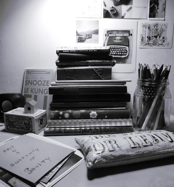 Carissa's Desk