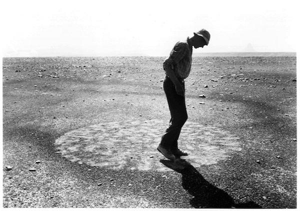 Artist Richard Long, 1987