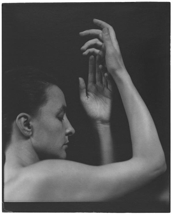 Georgia O'Keeffe photographed by Alfred Stieglitz, 1919.