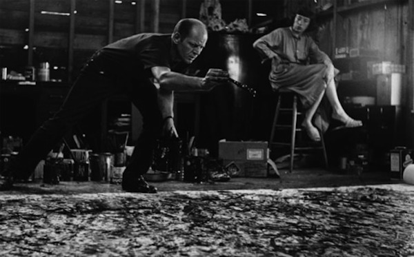 Jackson Pollock & Lee Krasner | Photo by Hans Namuth