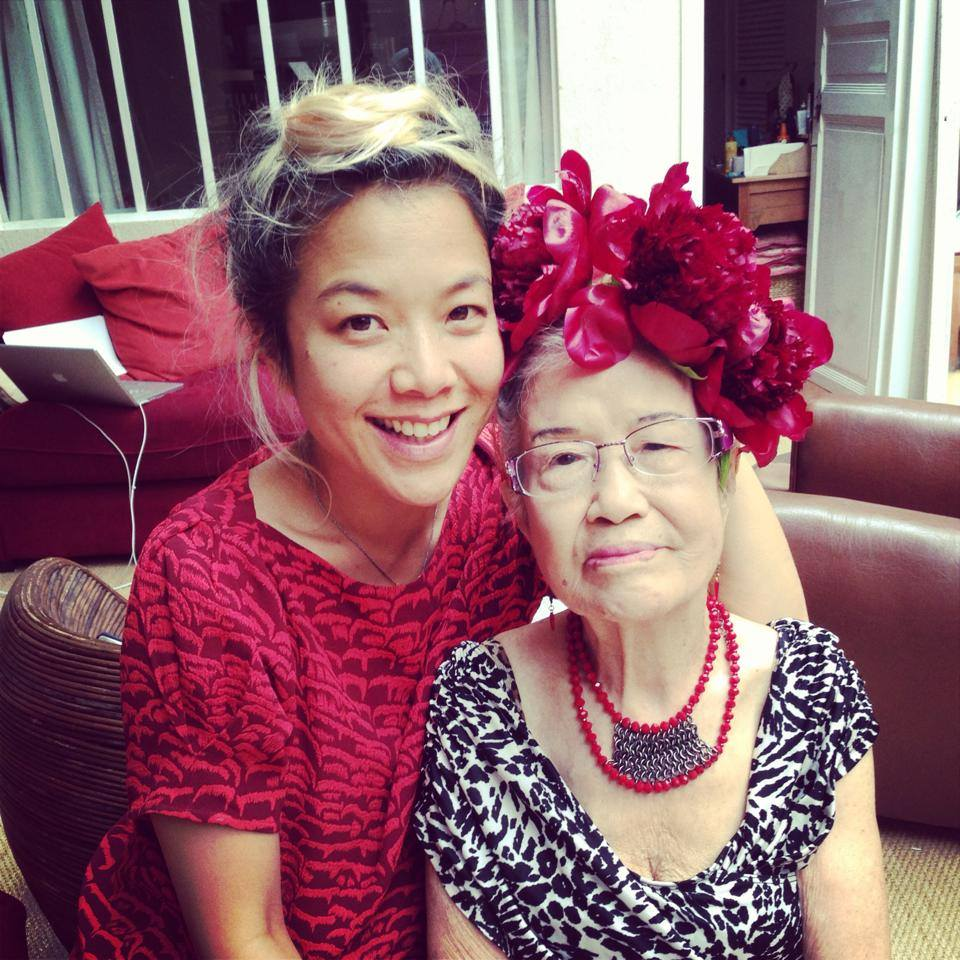 Mai and her grandmother